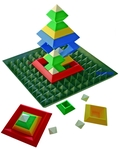 Triangle Puzzle mit Base von EDUPLAY