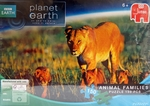 Jumbo Puzzle Planet Earth Animal Families Lions