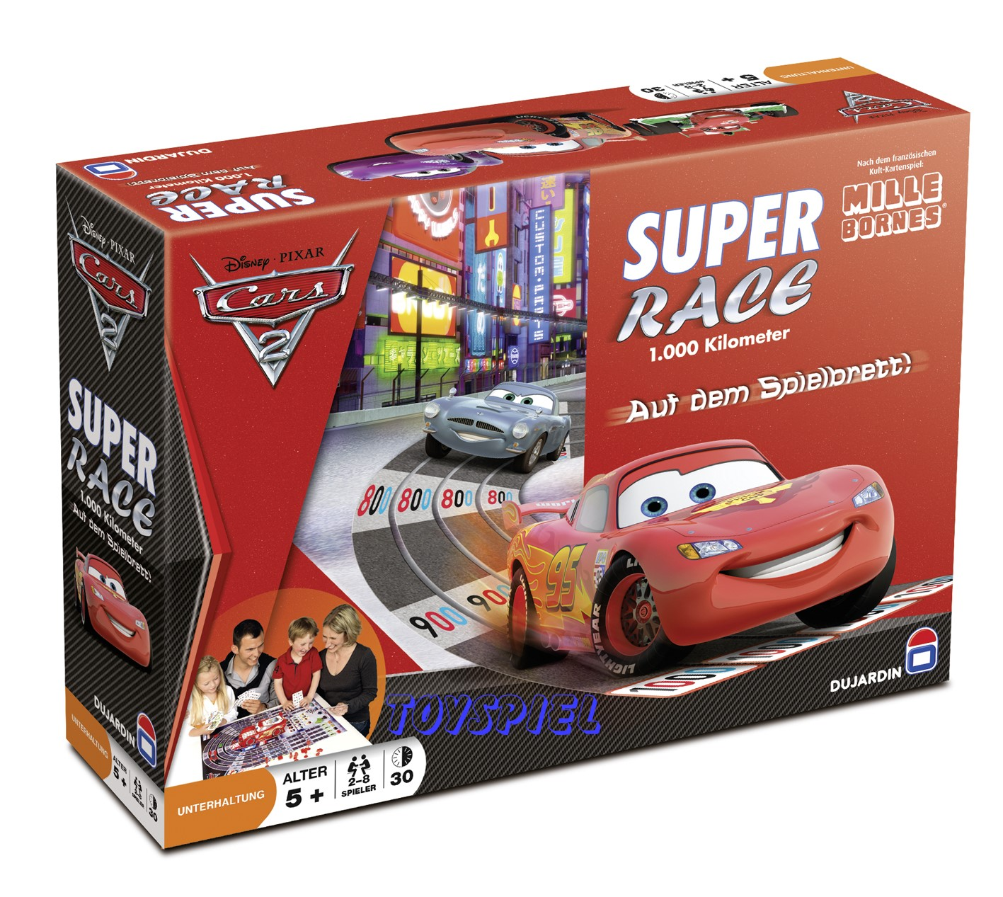 Supper race cars 2 1000km for Dujardin automobile