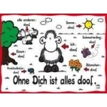 Ravensburger Puzzle 1000Teile Sheepworld, Ohne Dich ist alles doof