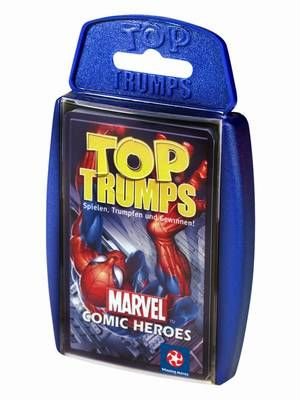 Top Trumps Marvin Comic Heroes 1 von Winning Moves