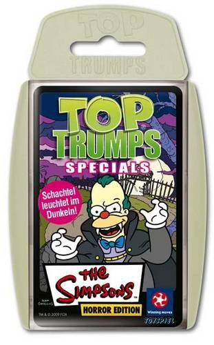 Top Trumps Simpsons Horror Edition von Winning Moves