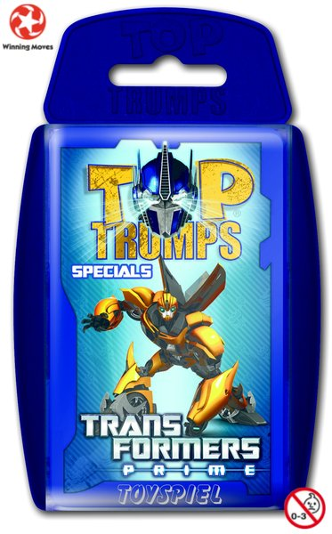 Top Trumps Transformers Prime von Winning Moves
