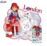 Nancy World Aventures London - Puppen von Famosa