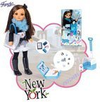 Nancy World Aventures New York - Puppen von Famosa